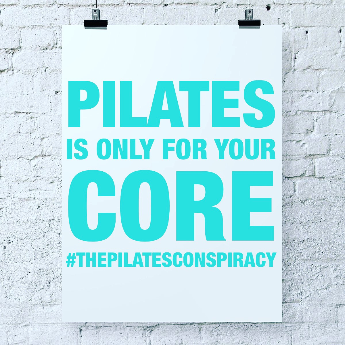 Pilates is only for your core